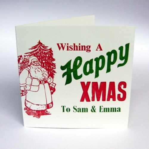SORT_Custom Xmas Card