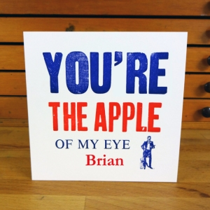 F&M SORT Card_You're the apple (blue)SML