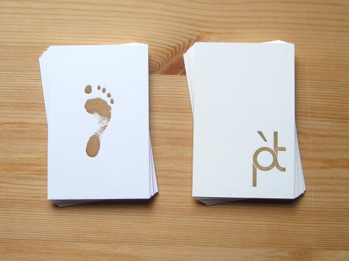 Pied a Terre - Business Cards 1b