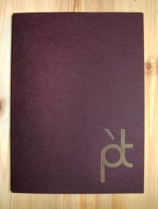 Pied a Terre - Menu Cover_1b